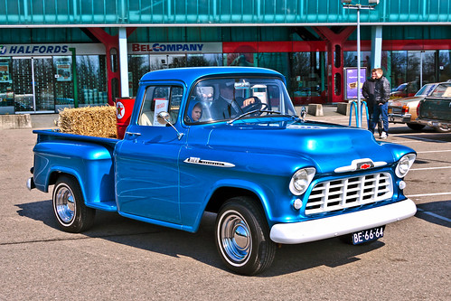 Chevrolet 3100 Stepside Pick-Up Truck 1956 (2311)