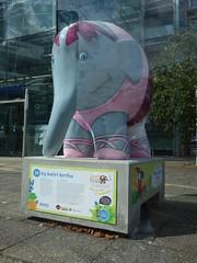 "Big Ballet Bertha By Glen Brooks Elmers Big Parade Suffolk Statue Ipswich July 2019 (Uncle Money UK) Tags: bigballetbertha glenbrooks elmertheelephant ""elmers big parade suffolk"" statue ipswich july 2019"
