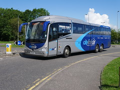 Craig of Campbeltown Scania K410EB6 Irizar i6, in Citylink Air livery, YS16LMU 11609 operating AIR service to Glasgow at Edinburgh Airport on 10 June 2019. (Robin Dickson 1) Tags: busesedinburgh ys16lmu craigofcampbeltown scaniak410eb6 irizari6 citylink citylinkair