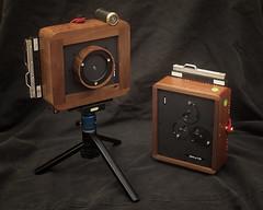 Karlos-187-&-K188 (G-A-P) Tags: karlos karloscameras karlospinholecamera karlrichards handmade pinholecamera sherwoodcameras wood camera pinhole largeformat 4x5 5x4 sheetfilm