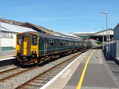 150244 Paignton (2) (Marky7890) Tags: gwr 150244 class150 sprinter 2t11 paignton railway devon rivieraline train