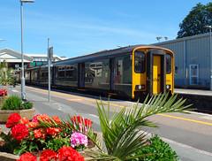 150244 Paignton (3) (Marky7890) Tags: gwr 150244 class150 sprinter 2t11 paignton railway devon rivieraline train