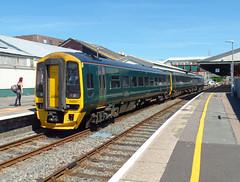 158957 Paignton (2) (Marky7890) Tags: gwr 158957 class158 expresssprinter 2a59 paignton railway devon rivieraline train