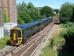 158957 Paignton (5) (Marky7890) Tags: gwr 158957 class158 expresssprinter 2a59 paignton railway devon rivieraline train