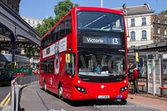 IMG_2356-270619 (andrewcolebourne) Tags: london londonbus transportforlondon victoria busstation station towertransit mv38216 lj17wse x route13 westbourneparkgarage volvo b5lh mcv evoseti