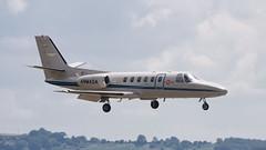 Yeovilton Arrivals Day 2019 - Cessna Citation II (DaveGray) Tags: canoneos70d airshows aircraft yeoviltonarrivalsday cessnacitationii spanishnavy