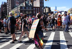 30a.Start.QueerMarch.NYC.30June2019 (Elvert Barnes) Tags: 2019 newyorkcitynewyork newyorkcityny nyc newyorkcity2019 nyc2019 gaypride gaypride2019 streetphotography2019 streetphotography newyorkcitystreetphotography nycstreetphotography2019 49thnycgaypride2019 newyorkcitygaypride nycgaypride greenwichvillage greenwichvillage2019 june2019 30june2019 reclaimpridecoalitionnyc reclaimpridecoalitionnyc2019queerliberationmarchrally sundaymorning30june2019lineupforqueerliberationmarch sunday30june2019nyc sundaymorning30june2019nyc stepoff2019queerliberationmarchnyc