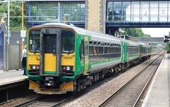 153375, 153356 & 170509 - The Hawthorns, West Midlands (The Walsall Spotter) Tags: thehawthorns railway station snowhilllines westmidlands westmidlandsrailway class170 turbostar 170505 class153 dmu 153356 153375 networkrail britishrailways multipleunit diesel