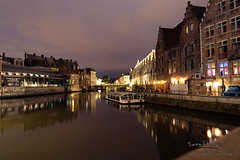 Ambience of Ghent at Night (Timmy.M.Cheung) Tags: belgium ghent gent night nightview europe sony a7iii colorful color peaceful
