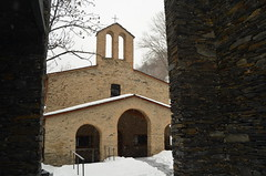 The old romanesque church