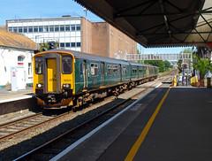 150244 Paignton (1) (Marky7890) Tags: gwr 150244 class150 sprinter 2t11 paignton railway devon rivieraline train