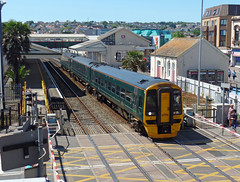 158957 Paignton (4) (Marky7890) Tags: gwr 158957 class158 expresssprinter 2a59 paignton railway devon rivieraline train