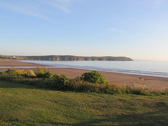 Photo of Woolacombe: View of Baggy Point (Devon)