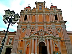 Church of St. Casimir (1618) on Didžioji gatve in Vilnius, capital of Lithuania. October 2017. (Aris Jansons) Tags: church stcasimir didžiojigatve vilnius city capital religion catholic lithuania baltic europe