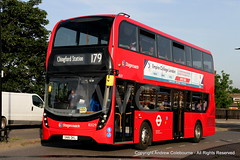 IMG_2369-280619 (andrewcolebourne) Tags: london londonbus alexander dennis bk transportforlondon southwoodford theviaduct stagecoachlondon barkinggarage 10329 enviro400mmc sn16okl route179