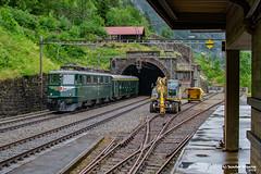 06/07/2019 | Wassen (SB-2013) Tags: sbb historic ae 66 11411 erlebnisfahrt gotthard wassen erstfeld goeschenen railpicturesnet strecke berg bahnhof