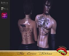 The Crow (pyp.tattoos.makeup) Tags: unisex men women tattoos maitreya belleza jake slink omega pickyourpoison pyp beautiful sexy classy