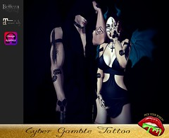 Cyber Gamble # 2 (pyp.tattoos.makeup) Tags: unisex men women tattoos maitreya belleza jake slink omega pickyourpoison pyp beautiful sexy classy