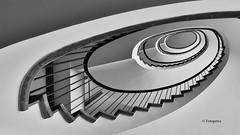 Hamburg Stairs Detjenhaus (petra.foto busy busy busy) Tags: hamburg hansestadt germany architektur treppenhaus kontorhaus stairs treppe treppenauge treppengeländer schnecke vonunten fotopetra canon eosrp elitegalleryaoi bestcapturesaoi aoi