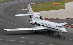 VQ-BZE Dassault Falcon 50 (R.K.C. Photography) Tags: vqbze dassault falcon50 175 bermuda aviation bizjet aircraft luton bedfordshire england unitedkingdom londonlutonairport ltn eggw uk canoneos750d