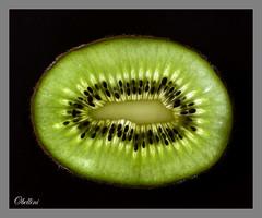 Kiwi (octbellini) Tags: fruit green food macromondays patternsinnature