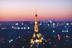 Blurred view of Paris, France (A. Aleksandravičius) Tags: paris night eiffel tower view france skyline aerial cityscape city sky panorama tour light travel architecture building tourism landmark famous capital french beautiful blue urban europe european illuminated evening background landscape golden postcard town top montparnassetower panoramic traveldestination toureiffel bokeh defocused
