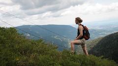 Looking Beyond (benjamin.t.kemp) Tags: friend mountain walk trek landscape person nature
