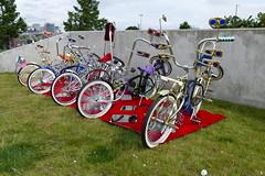 Lows Traviesos Car Show (bballchico) Tags: carshow lowstraviesoscc bike bicycle lowrider tacomawa lemaycarmuseum