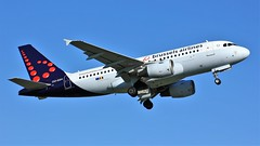OO-SSH (AnDyMHoLdEn) Tags: brusselsairlines a319 lufthansagroup staralliance egcc airport manchester manchesterairport 23l