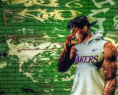 """"""" Take This L """" (maka_kagesl) Tags: secondlife sl second life game gaming games virtual videogame videogames portrait photography lakers basketball"""