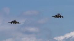 Yeovilton Arrivals Day 2019 - Spanish Navy EAV-8B Harrier II Plus (DaveGray) Tags: airshows yeoviltonarrivalsday royalnavyinternationalairday canoneos70d aircraft sky spanishnavy eav8bharrieriiplus vtol jet