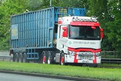 Enviro Skip Hire Renault EP17 BLV (sab89) Tags: hgv lorry lorries truck trucks hgvs heavy goods vehicle