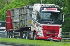 J.Davidson Scrap Metal Volvo FH500 1980 JD (sab89) Tags: hgv lorry lorries truck trucks hgvs heavy goods vehicle
