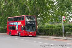 IMG_2306-260619 (andrewcolebourne) Tags: london londonbus transportforlondon goahead londongeneral sw stockwellgarage parliamenthillfields highgateroad eh36 yx13bkk route88 alexander dennis enviro400 hybrid