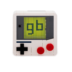 L square - Gameboy (Attacki Works) Tags: lego square tile moc snot afol new design logo nintendo gamer gameboy retro classic 80s toy player