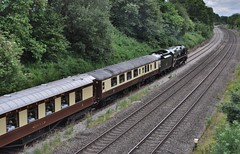 35028 Clan Line - British Pullman to Stratford on Avon (Martin Creese) Tags: 35028 clan line british pullman hatton july 2019 nikon d90 railway photography warwickshire