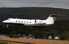 N168PK (ianossy) Tags: gla egpf gulfstream aerospace giv glf4 n168pk