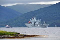 Cumbrian Fisher & Wave Knight (Zak355) Tags: rothesay isleofbute bute scotland shipping ship boat vessel riverclyde rfawaveknight royalnavy naval navy lochstriven royalfleetauxiliary cumbrianfisher a389