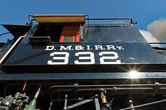 Introducing DM&IR 332 (jterry618) Tags: 280 alcopittsburg1906 americanlocomotivecompany dmir332dne28 dmn332dmir332dne28 duluth duluthnortheastern duluthmissabeironrange lsrm lakesuperiorrailroadmuseum minnesota northshorescenicrailroad cabnumbers detail servicingattheshop