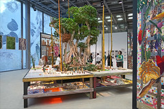 """L'exposition """"Nous les Arbres"""" à la Fondation Cartier, Paris (dalbera) Tags: dalbera paris france fondationcartier artcontemporain arbres luizzerbini"""