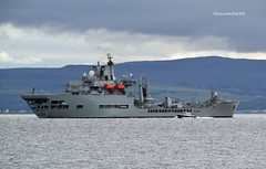 Wave Knight (Zak355) Tags: rothesay isleofbute bute scotland shipping ship boat vessel riverclyde rfawaveknight royalnavy naval navy lochstriven royalfleetauxiliary a389