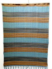 Mexico Oaxaca Textiles Weaving Tapete (Teyacapan) Tags: weavings tejidos mexican oaxaca museum rug tapete