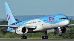 G-OOBG (AnDyMHoLdEn) Tags: tui thomson 757 airport egcc manchester 23l