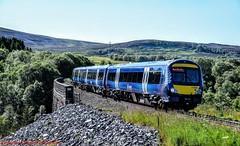 170425 @ Slochd (A J transport) Tags: class170 diesel dmu 170425 highlandmainline railway trains scotland scotrail saltirelivery turbostar nikkon d5300 dlsr