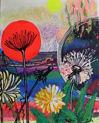 Serie: Universos (puri_evelin) Tags: universos interiori búsquedas arte art experimentacion visual acrilic oleo esgrafiado pastel círculo
