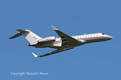 GLOBAL 5000 N504VJ VISTA JET AMERICA (shanairpic) Tags: bizjet corporatejet executivejet global5000 bombardier shannon vistajetamerica n504vj
