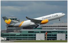 (Riik@mctr) Tags: manchester airport egcc gtcxd ringway airfield tower runway muddypath thomas cook uk airbus a330 msn 1016 n969av