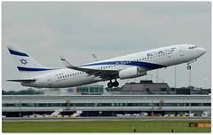 (Riik@mctr) Tags: manchester airport egcc 4xekc ringway airfield runway el al boeing 737 next gen msn 29959 muddypath