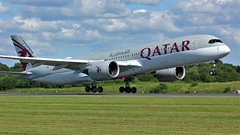 A7-ALN (AnDyMHoLdEn) Tags: qatar a350 oneworld egcc airport manchester manchesterairport 23l