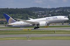 United Airlines Boeing 787-800 Dreamliner; N45905@ZRH;14.07.2019 (Aero Icarus) Tags: zrh zürichkloten zürichflughafen zurichairport lszh plane avion aircraft flugzeug unitedairlines boeing787800 dreamliner n45905 takeoff